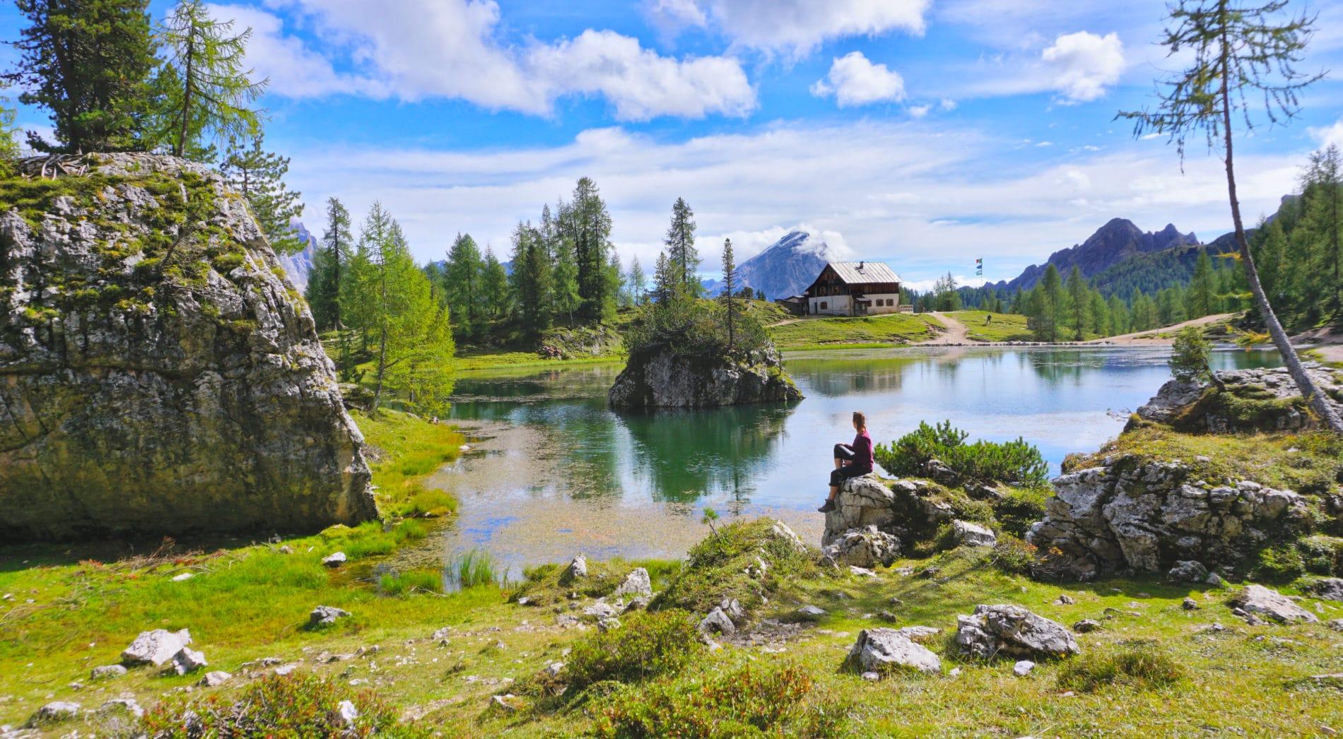 Tageswanderung um die Croda da Lago – ein Naturparadies