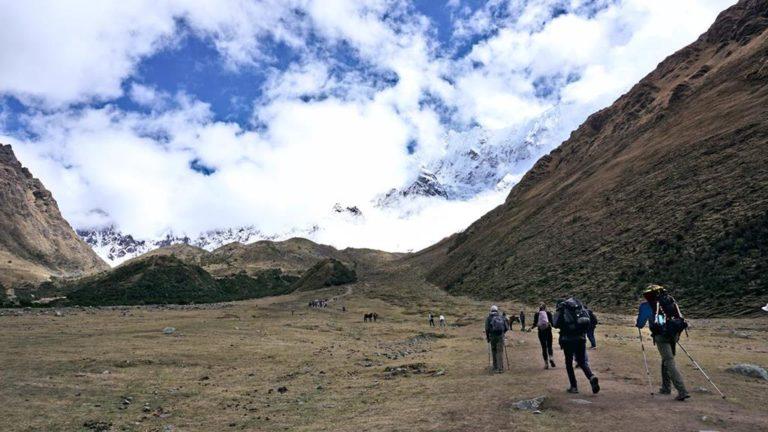 Auf dem Weg zum Humantay Lake auf dem Salkantay Trek in Peru