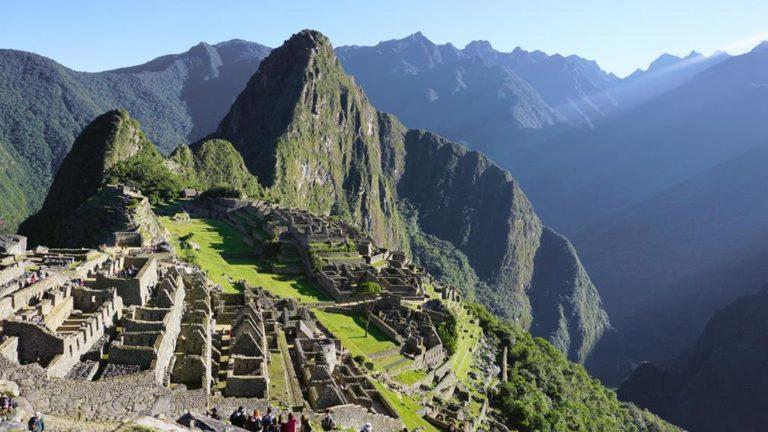 Blick auf Machu Picchu