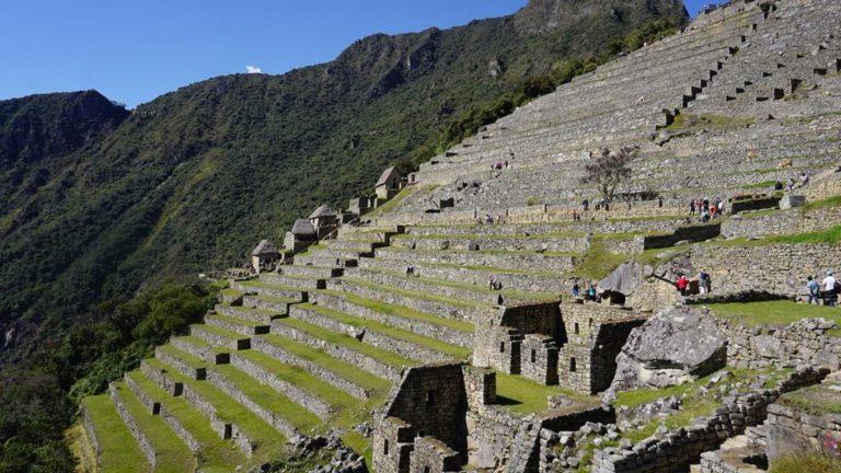 Die imposante Inka-Stätte Machu Picchu