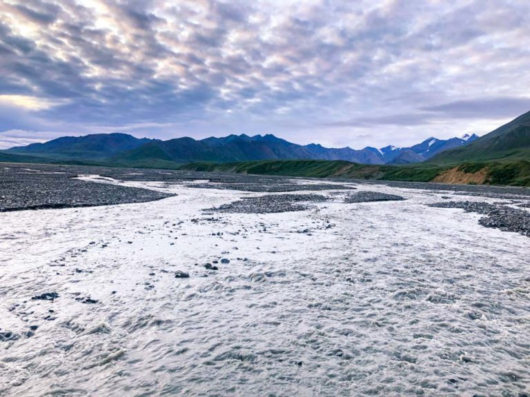 Flussquerungen im Denali